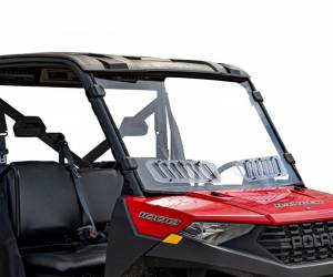 Polaris Ranger 900 Scratch Resistant Vented Full Windshield