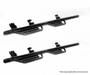 Nerf Bars & Steps - Nerf Steps - Ranch Hand - Ranch Hand Wheel-To-Wheel Nerf Step Bars, Chevy/GMC (2007.5-14) 2500 & 3500 Crew Cab with 6.5' Bed