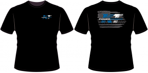 Apparel - KTP Youth Shirts - KT Powersports Youth T-Shirt, Black (X-Small)
