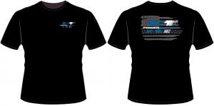 Apparel - KTP Youth Shirts - KT Powersports Youth T-Shirt, Black (Medium)
