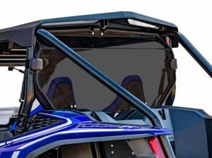 Honda Talon 1000X, Rear Windshield, Standard Polycarbonate- Dart Tint
