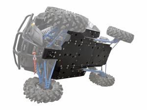 UTV Frame/ Chassis - Skid Plates - SuperATV - Polaris RZR XP Turbo Full Skid Plate (2016+)