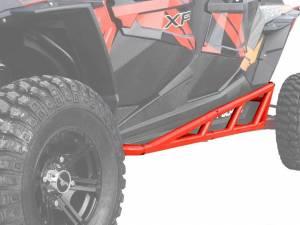 Polaris RZR XP 1000 Nerf Bars, 4 Seater, (Red)