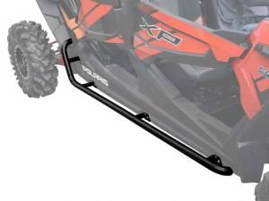 Polaris RZR XP 4 1000 Rock Sliding Nerf Bars  (Black)