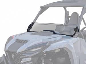 Yamaha Wolverine X2 Half Windshield, Standard Polycarbonate, Dark Tint (2021+)