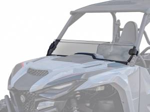 Yamaha Wolverine RMAX 1000 Half Windshield, Standard Polycarbonate (Dark Tint)