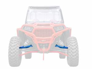 UTV Accessories - UTV Radius Arms - SuperATV - Polaris RZR XP 1000 High Clearance Upper A-Arms, Non Adjustable with Standard Duty Ball Joints (Voodoo Blue)