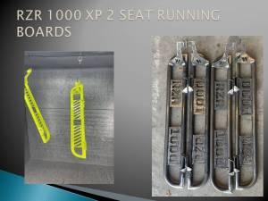 Wicked Motorsports Custom Running Boards (2 DoorPolaris RZR2016-2021)