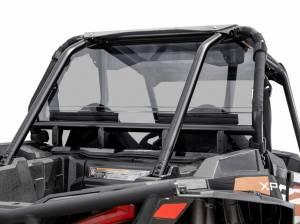 Polaris RZR XP Turbo Rear Windshield  (Standard Polycarbonate) Light Tint
