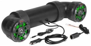 "BOSS AUDIO 4"" BT ATV/ UTV TUBE SYSTEM RGB LIGHTING WITH REMOTE"