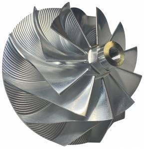 Turbos/Superchargers & Parts - Turbo Parts - AVP - AVP Billet Turbo Compressor Wheel, Ford (1994-03) 7.3L, TP38 & GTP38 Garrett Turbos, Stage 2 (11 Blade)