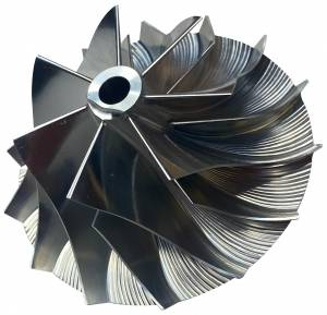 Turbos/Superchargers & Parts - Turbo Parts - AVP - AVP Billet Turbo Compressor Wheel,Chevy/GMC (1992-01) 6.5L GM8 Turbo(7+7 Blade)
