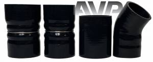AVP - AVP Intercooler Piping and Boot Kit, Ford (2003-07) 6.0L Power Stroke (Black) - Image 3