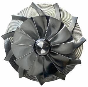 AVP Boost Master Quick Spool Billet Compressor Wheel,Chevy/GMC (2007.5-10) 6.6L LMM Duramax (11 Blade)