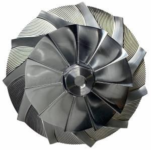 AVP Boost Master Quick Spool Billet Compressor Wheel,Chevy/GMC (2006-07) 6.6L LBZ Duramax(11 Blade)