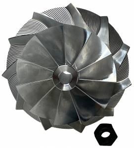 AVP Boost Master Quick Spool Billet Compressor Wheel,Chevy/GMC (2001-04) 6.6L LB7 Duramax(11 Blade)