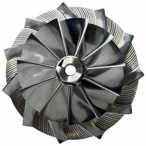 AVP Boost Master Quick Spool Billet Compressor Wheel,Chevy/GMC (2004.5-05) 6.6L LLY Duramax(11 Blade)