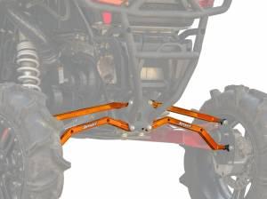 Polaris RZR XP 1000 High Clearance Boxed Radius Arms (Orange)