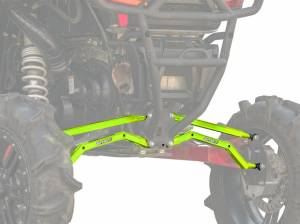 Polaris RZR XP 1000 High Clearance Boxed Radius Arms (Lime Squeeze)