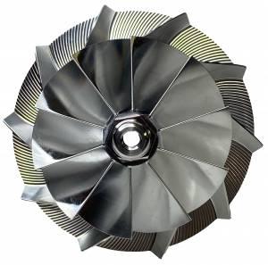 AVP Billet Turbo Compressor Wheel, Ford (1999.5-03) 7.3L, GTP38R Garrett Turbos, Stage 2 (10 Blade)