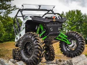 """Kawasaki Teryx 6"""" Lift Kit,  (2016+)Rhino 2.0 Axles,Green(Machines must have Portals)"""