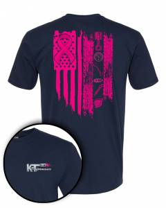 Apparel - Breast Cancer Awareness T-Shirts - Breast Cancer Awareness, KT Performance T-Shirt (Large)