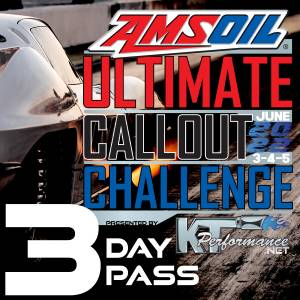 Gift Certificates - Ultimate Callout Challenge 2022 Tickets - Ultimate Callout Challenge 2022, 3 Day Pass (June 3rd, 4th & 5th)