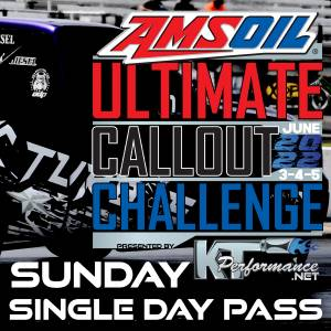 Gift Certificates - Ultimate Callout Challenge 2022 Tickets - Ultimate Callout Challenge 2022, 1 Day Pass (Sunday June 5th)