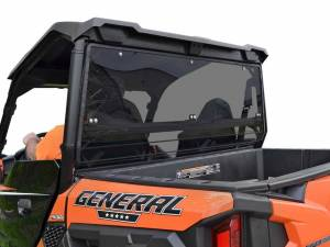 Polaris General XP 1000 Rear Windshield (Standard Polycarbonate Dark Tint)