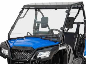 Honda Pioneer 520 Full Windshield Scratch Resistant Polycarbonate (Clear)