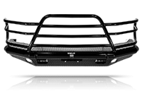 Tough Country - Tough Country Custom Deluxe Front Bumper, for Dodge (2019-21) 2500, 3500, 4500, 5500