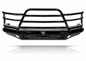 Tough Country - Tough Country Custom Deluxe Front Bumper, Chevy (2020-21) 2500 & 3500 Silverado