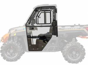 Polaris Ranger XP 1000 Convertible Cab Enclosure Doors, Standard Polycarbonate- Light Tint