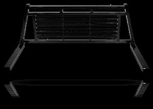 Tough Country Custom Louvered Headache Rack, Chevy/GMC (2020-21) 2500, & 3500 Silverado HD With Rails