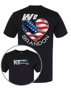 "Brandon Shirts - KT Performance T-Shirt ""We Love Brandon"""