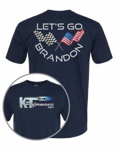 "Brandon Shirts - KT Performance T-Shirt ""Let's Go Brandon"""