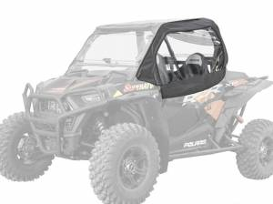Polaris RZR 900 Primal Soft Cab Enclosure Upper Doors withClear Rear Windshield (Standard Polycarbonate)
