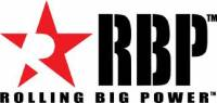 "Rolling Big Power - RBP RX-1 5"" Inlet to 6"" Outlet - 18"" Long Dual Badged (Black/ Red Star)"