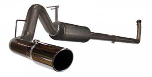 "aFe - aFe 4"" Turbo Back Exhaust, Dodge (1994-02) 5.9L Cummins, T-409 Stainless"