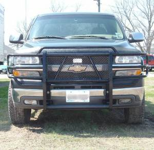 Brush Guards & Bumpers - Grille Guards - Ranch Hand - Ranch Hand Legend Grille Guard, Chevy/GMC (2001-02) 2500HD/3500