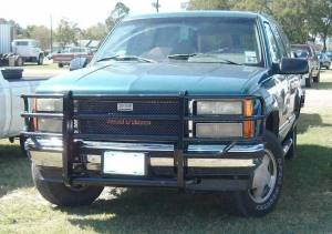 Ranch Hand - Ranch Hand Legend Grille Guard, Chevy/GMC (1988-98)1500/2500/3500 & (92-99)Suburban/Tahoe/Blazer/Yukon/Jimmy