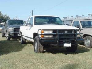 Ranch Hand - Ranch Hand Legend Bumper, Chevy/GMC (1988-98)1500/2500/3500 & (92-99)Suburban/Tahoe/Blazer/Jimmy/Yukon