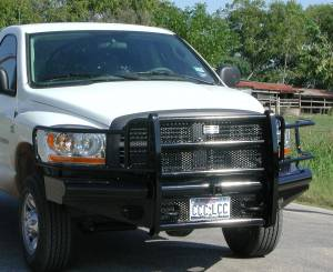 Ranch Hand - Ranch Hand Legend Bumper, Dodge (2006-09)  2500/3500 & 1500/2500 Mega Cab
