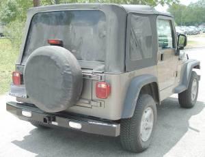 Ranch Hand Rear Bumper, Jeep (1997-06) TJ Wrangler