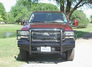 Ranch Hand - Ranch Hand Legend Bumper, Ford SD (2005-07) F250/F350/F450/F550, & (05) Excursion
