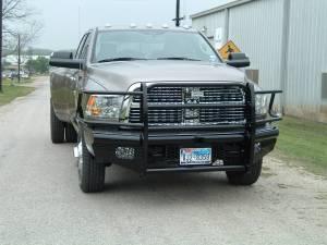 Ranch Hand - Ranch Hand Legend Bumper, Dodge (2010-16)  2500/3500 & 1500/2500 Mega Cab