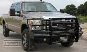 Ranch Hand - Ranch Hand Legend Bumper, Ford SD (2011-13) F250/F350/F450/F550