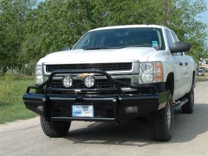 Brush Guards & Bumpers - Front Bumpers - Ranch Hand - Ranch Hand Legend Bullnose Bumper, Chevy (2007.5-10) 2500 & 3500