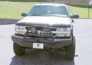 Brush Guards & Bumpers - Front Bumpers - Ranch Hand - Ranch Hand Legend Bullnose Bumper, Chevy (2001-02) 2500HD/3500