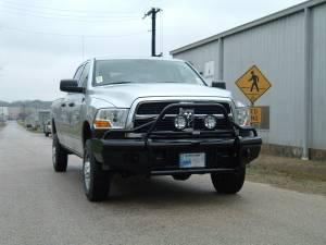 Ranch Hand - Ranch Hand Legend Bullnose Bumper, Dodge (2010-17) 2500/3500 & 1500 Mega Cab